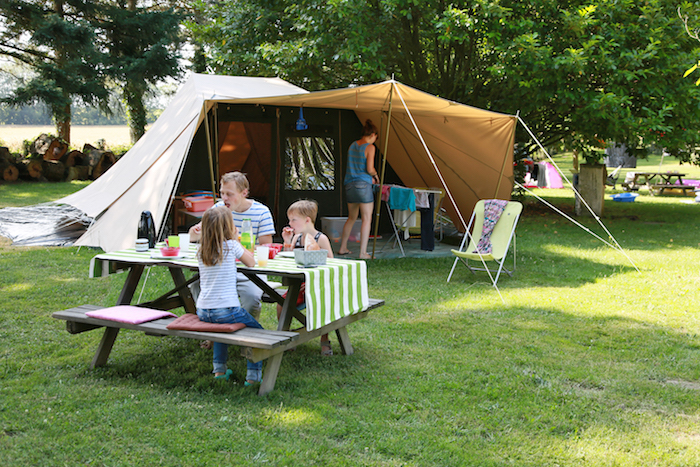 camping emplacement Le Muret