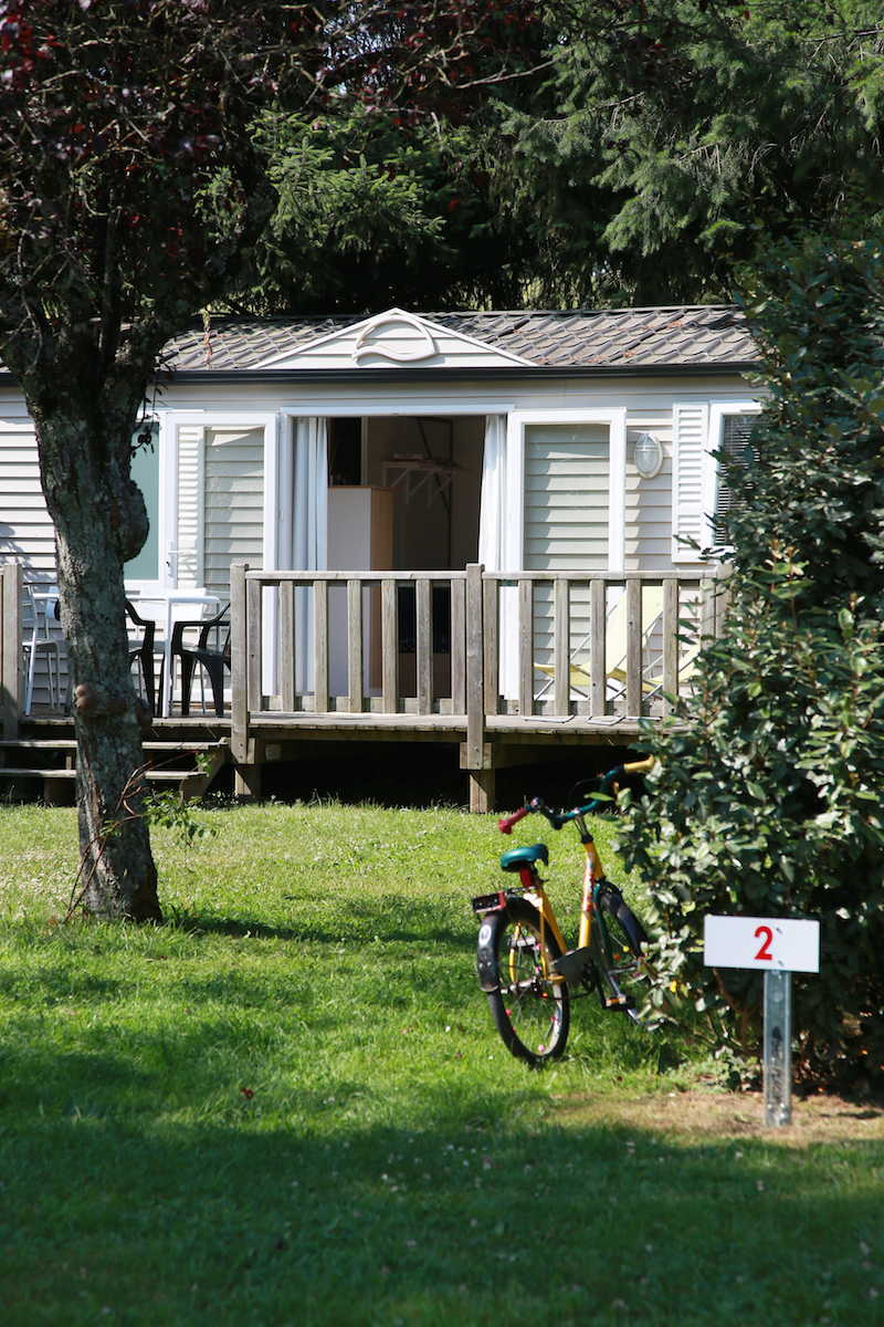 mobile home - camping le muret