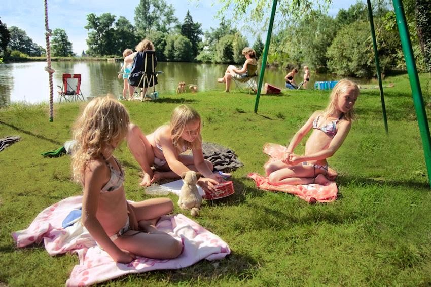 plage lac -camping le muret