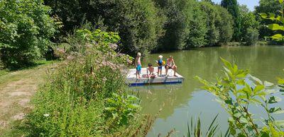 ponton lac-camping le muret
